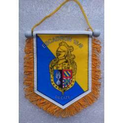 Fanion de l'Escadron de Gendarmerie Mobile 18/8 de la 8e Légion de Gendarmerie Mobile