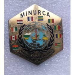 Mission des Nations Unies en République Centrafricaine (MINURCA)