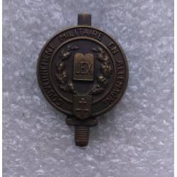 Gouvernement Militaire en Allemagne LEX 1945 (réduction)