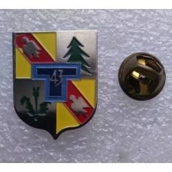 43e Régiment de Transmissions (pin's)