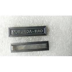 MURUROA - HAO agrafe
