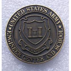 ENGINEER CENTER and SCHOOL - UNITED STATES ARMY médaille de table