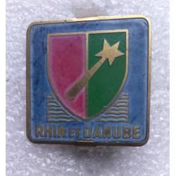 1ére Armée Rhin et Danube 30x30mm