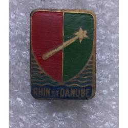 1ére Armée Rhin et Danube 16x22mm