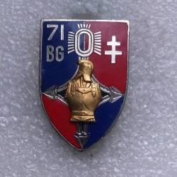 71e Bataillon du Génie Croix d'Agadès