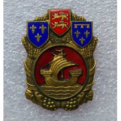 1ère Section de Commis Ouvriers Militaires d'Administration émail