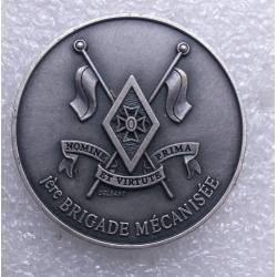 coin 1ère Brigade Mécanisée DOMINE ET VIRTATE PRIMA