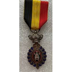 Belgique : Médaille du Travail de 2e classe (25 ans)