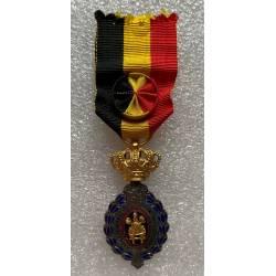 Belgique : Médaille du Travail de 1ere classe (30 ans)