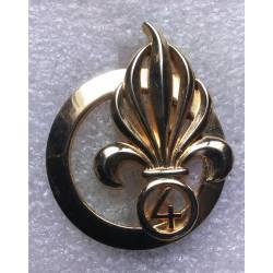 4e Régiment Etranger d'Infanterie insigne de béret