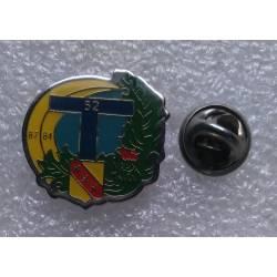 52e Régiment de Transmissions (pin's)