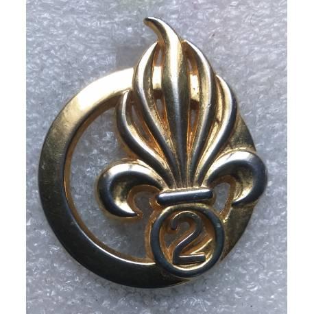 2e Régiment Etranger d'Infanterie insigne de béret