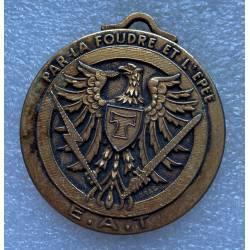 Ecole d'Application des Transmissions médaille portable sans ruban